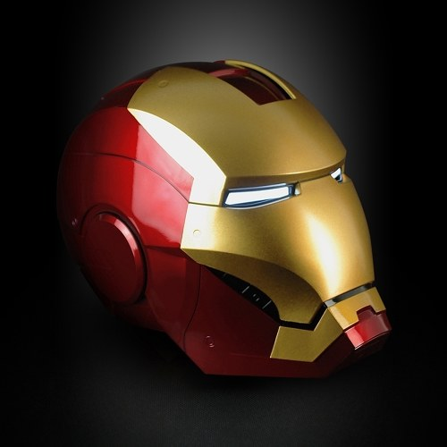 Super Hero Iron Man 1/1 Mark3 Full Scale Tragbare Helm Maske Replik für Festival Party Dekoration Kinder Spielzeug