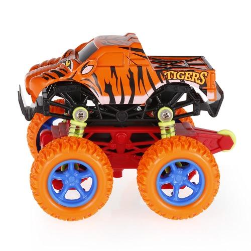 Giocattolo di automobile di inerzia resistente agli urti di 4WD delle grandi rotelle della lega