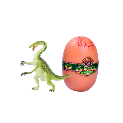 Assorted 4Pcs Puzzle 3D dinozaurów w Easter Egg DIY Zestaw montażowy Kids Educational Toy