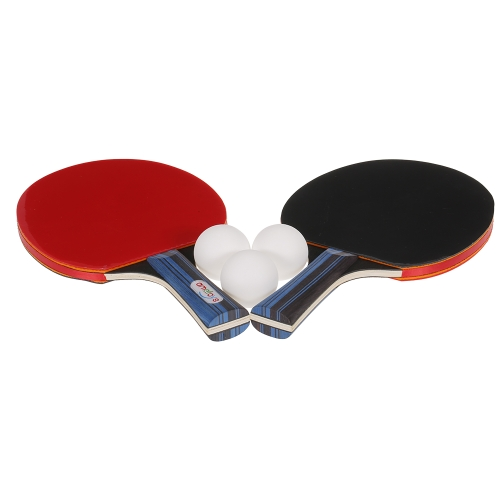 Ametoys Table Tennis Set Ping Pong 2 Paddles 3 Table Tennis Balls and Carry Case
