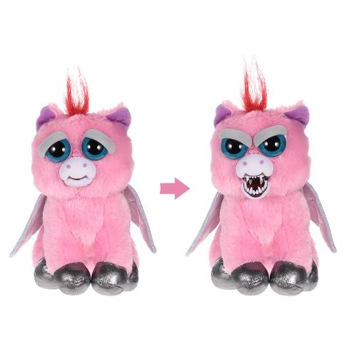 Feisty Pets Sparkles Rainbowbarf魅力的なぬいぐるみのぬいぐるみペガサスがぴったりとした