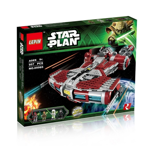 Caja original LEPIN 05085 967pcs The Jedi Defender Class Cruiser - Juego de bloques de construcción de Star Wars Spaceship