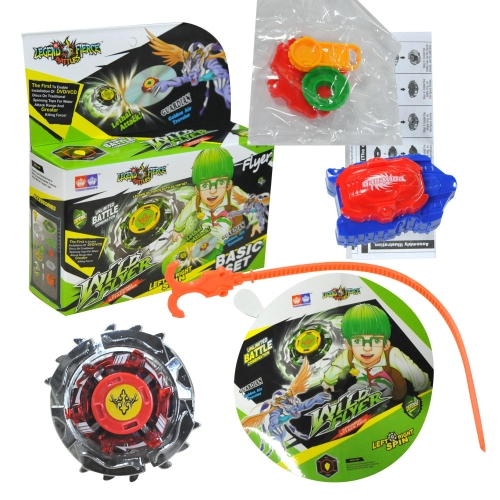 Bey Blade Burst Launcher Set Spinner Attack Gyro Battleblade Spin Toy Gift for Kids