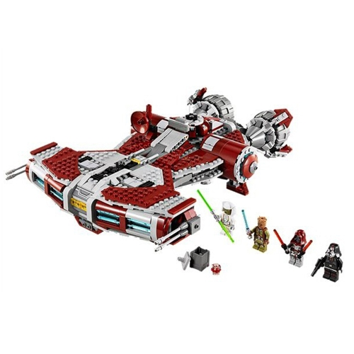LEPIN 05085 967pcs The Jedi Defender Class Cruiser Star Wars Nave espacial Kit de bloques de construcción - Paquete de bolsas de plástico