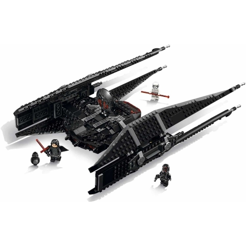 LEPIN 05127 705pcs Star Wars Episodio VIII Lega di caccia del cecchino di Kylo Ren Star Wars Spaceship Building Block Kit Set - Pacchetto di buste di plastica