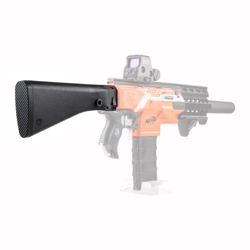 Worker Modification Shoulder Stock Kits for Nerf Toy Gun N-strike Elite Stryfe - Black