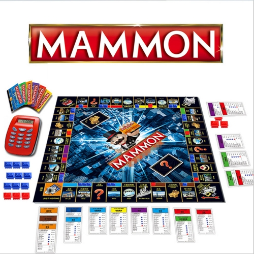 Monopoly Board Game Ultimate Banking Edition Party Item for Playing with Friends