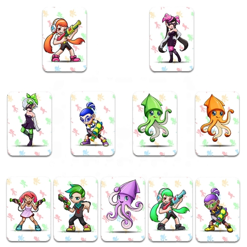 11pcs NFC 215 Tag Game Cards for Switch/Wii U