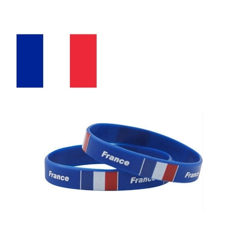70% OFF National Flags Silicone Bracelets Wristbands,limited offer $1.19