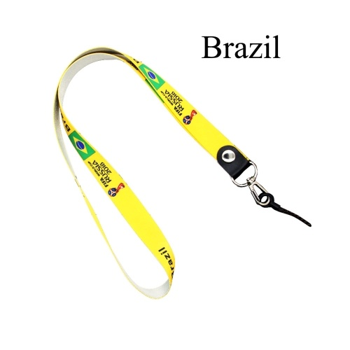 50% OFF National Flag Lanyard Neck Strap Necklace Key Chain,limited offer $2.29