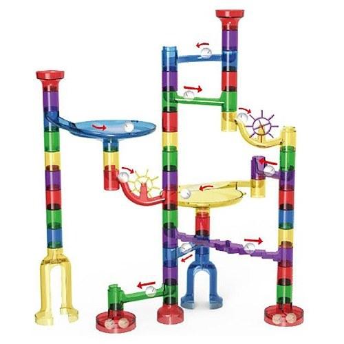 Giocattolo educativo di costruzione del gioco del marmo del gioco di marmo di 80Pcs Toy per i bambini