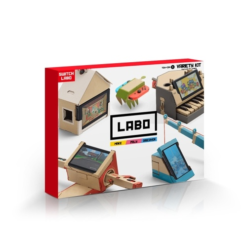 Nintendo Switch Labo DIY Cardboard Case Variety Kit Holder Bracket