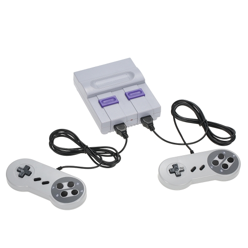 NES Super Mini Spielmaschine Built-in 400 Nicht-Wiederholung Spiele Zwei Griffe - HD-Version