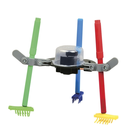 3 in 1 FAI DA TE Cool Scienza meccanica Set educativo Scarabocchiare Robot Kit di disegno Bambini Bambini Ragazzi ragazze Regalo Giocattoli divertenti