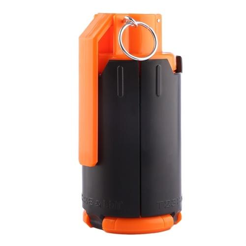 Zastąpienie plastikowego wypełnienia Zmodyfikowany ABS Bomb Bullet Bombki do wielokrotnego napełniania dla dzieci (pakiet 1 bez kryształowych korali wodnych)