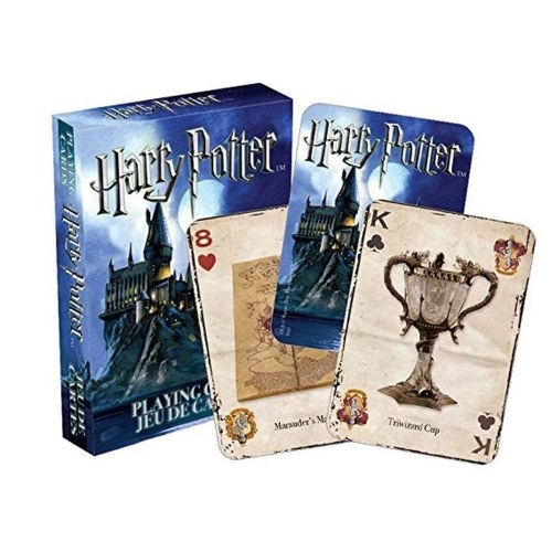 Harry Potter Symbols / Hogwarts House Poker Tarjetas de juego