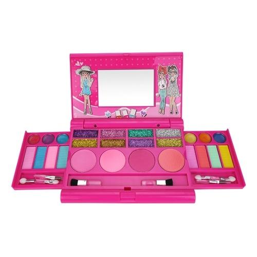 Kit di trucco per ragazze per bambini Set di trucco alla moda lavabile Set di cosmetici per ragazze