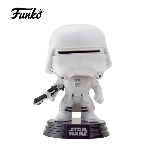 Funko POP Star Wars: Episode VII - The Force Awakens First Order Snowtrooper Action Figure Collection Bobble-Head Decorative Article