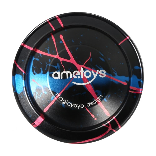 Ametoys V4 Professionelle Magic Yoyo High-Speed-Aluminium-Legierung Yo-yo CNC-Drehmaschine KK mit Spinning Schnur Lager für Jungen, Mädchen, Kinder Kinder