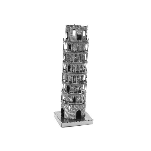 3Dパズル - ピサの塔 -  3D金属モデル -  DIYジグソーパズルモデルビルディング教育おもちゃ