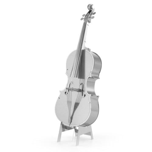 3D Puzzles Contrabass - 3D Metal Model Kit - DIY Modell Musikinstrument Pädagogisches Spielzeug