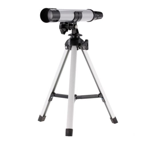 早期開発科学テレスコープ玩具30mm対物レンズ旅行用屈折望遠鏡キッズ