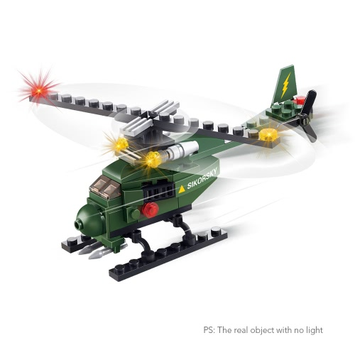 2 Sets XIPOO Military Series 75pcs XP91001 Helicopter and 72pcs ...