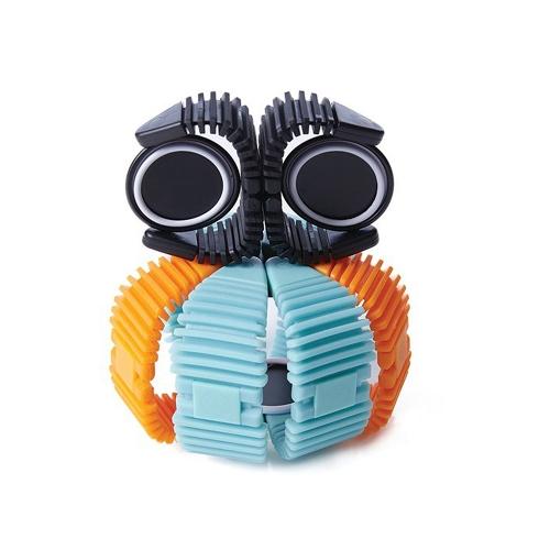 34pcs Elastyczny Zestaw Magnetyczny Montaż Puzzle 3D 2D Zablokuj Zabawki edukacyjne