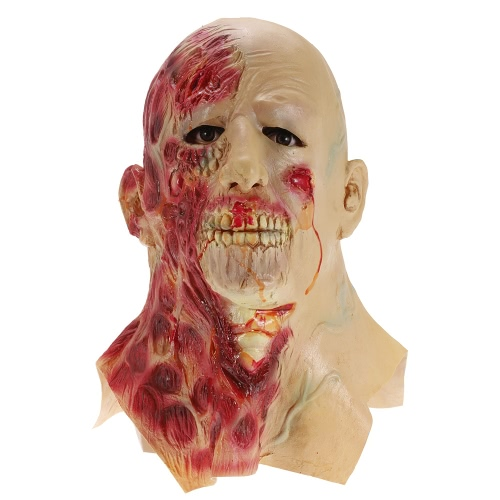 Crying Face Mask Horror Ghost Headgear Monster para la fiesta de Halloween