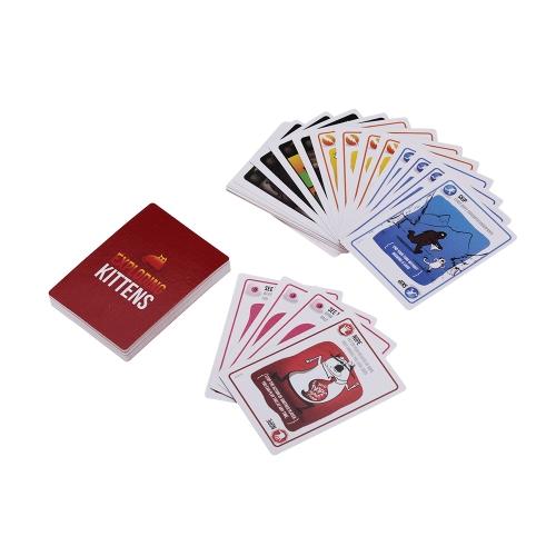 Implodierende Kätzchen Kartenspiel Party Play Cards NSFW Edition (Expliziter Inhalt - ERWACHSENE NUR!)