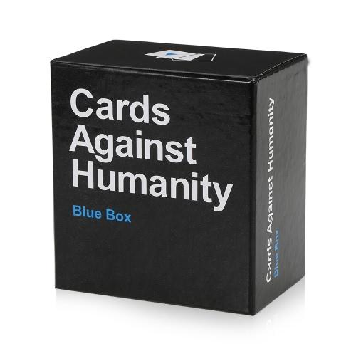 Karten gegen Humanity Party Spielkarten für Horrible Play-Blue Box