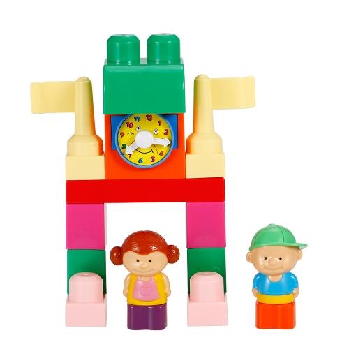 GOODWAY DOVE DF6966 DIYビルディングブロックブリック早期教育玩具ベビーキッズクリスマスギフト