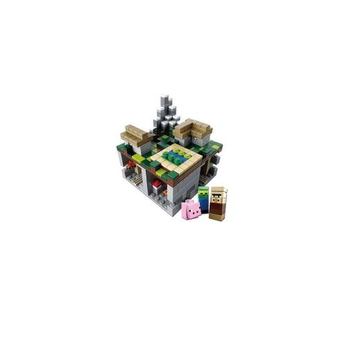 121105 Minecraft 466 stücke DIY Bausteine Kit Meine Welt Ziegel selbstgebautes Spielzeug für Kinder Kinder Festival Geschenk