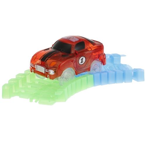 Glitter Track Rennwagen für 55mm Twister Tracks Neon Glow in Darkness für Kinder