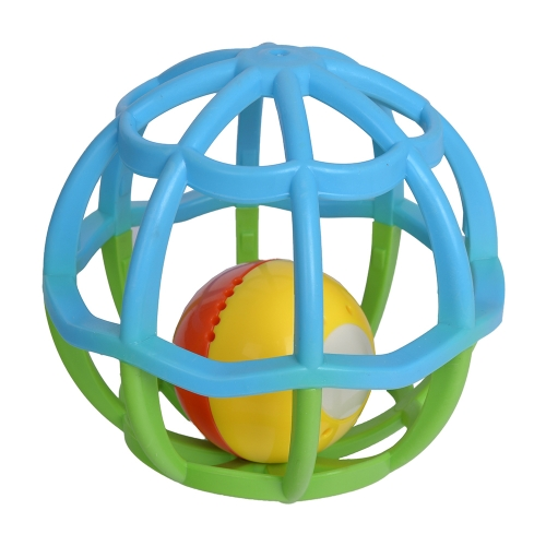 GOODWAY G106 Lampeggiante del corpo della sfera di costruzione infiammante che squilla il campanello del campanello di Handbell che afferra il giocattolo per l'istruzione precoce del bambino
