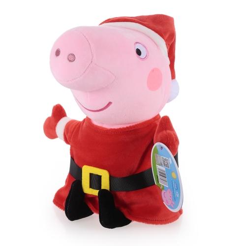 オリジナルブランドPeppa Pig 30cm Peppaぬいぐるみぬいぐるみファミリーパーティークリスマス新年ギフト