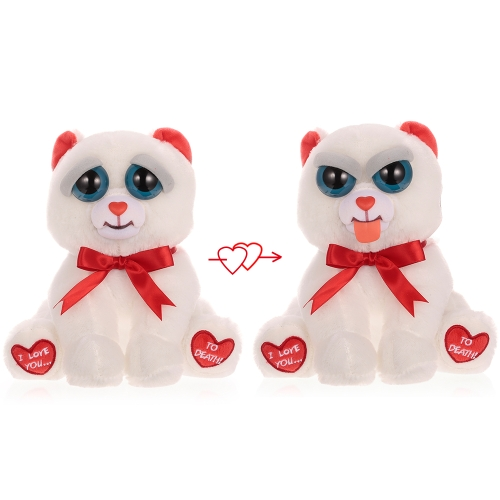 Feisty Pets Bear Taylor Truelove Feisty Films Peluche Adorable Peluche Stick Out Tongue con un Squeeze Special Valentine's Gift