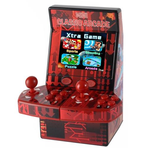 アップグレードされたWMGame NES ROMミニクラシックアーケードゲームキャビネットマシン183ゲームを内蔵したダブルジョイスティックレトロハンドヘルドプレーヤー