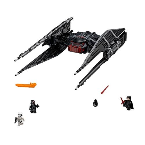 Oryginalne pudełko LEPIN 05127 705 sztuk Star Wars Episode VIII Kylo Ren's Tie Fighter - Star Wars Spaceship zestaw klocków Zestaw