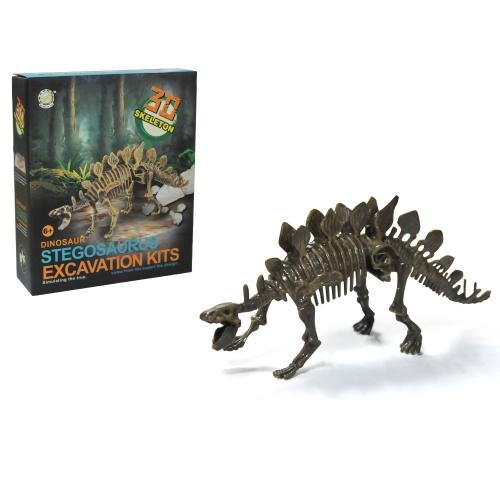 究極の恐竜科学キット - 恐竜を掘り起こし、Tレックス骨格を組み立てる