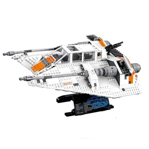 Caja original LEPIN 05084 1457pcs Snowspeeder de primer orden - Star Wars Spaceship Juego de bloques de construcción