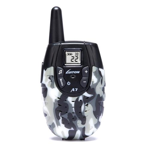Edition 2 Stücke Luiton A7 Wireless Radio Intercom elektronische Walkie-Talkies Sprech Pädagogisches Spielzeug Geschenk für Kinder Eltern-Kind-Interaktion