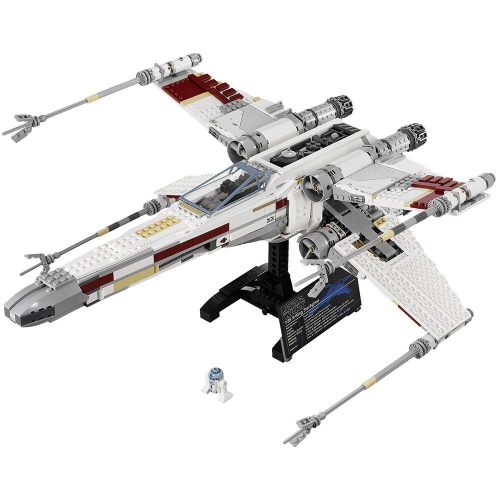 LEPIN 05039 1586pcs Star Wars Serie Red Cinque X-wing Starfighter Spaceship Building Block Kit Set - Sacchetto di plastica confezionato