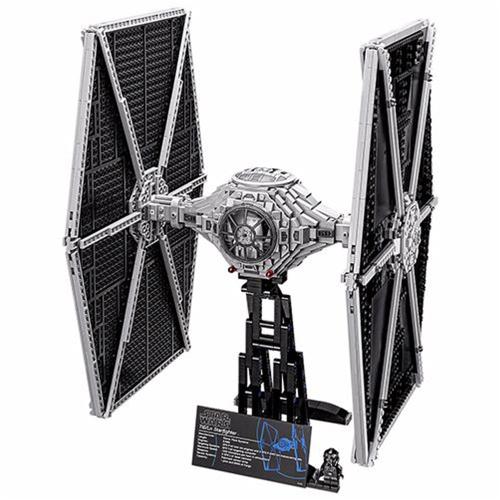 LEPIN 05036 1685pcs Star Wars TIE Fighter Spaceship Building Blocks Kit Set - Sacchetto di plastica confezionato