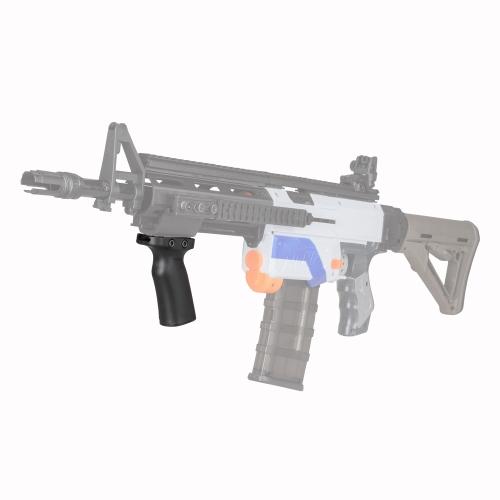 Pracownik Pochylony uchwyt do ręki Akcesoria do zabawek Nerf Toy Gun N-strike Elite - przezroczysty