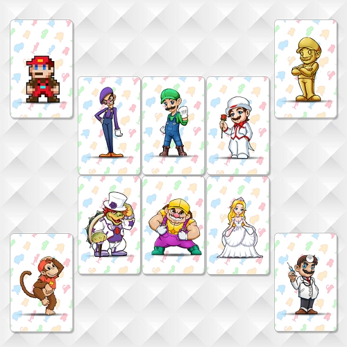 10pcs NFC 215 Tag Game Cards For Switch/Wii U