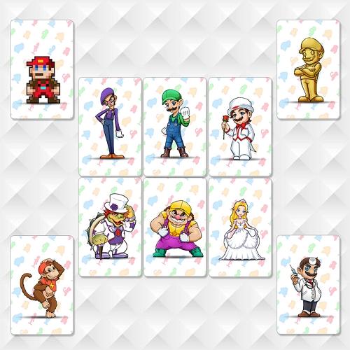 10 pezzi NFC 215 Tag Game Cards per Switch / Wii U