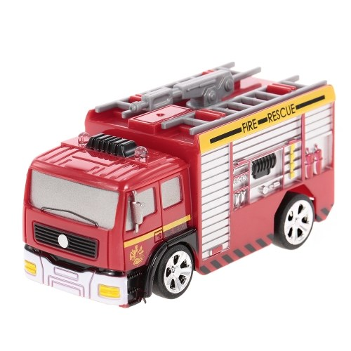 8026 Remote Control Fire Engine Operated Turntable Ladder Gift for Kids