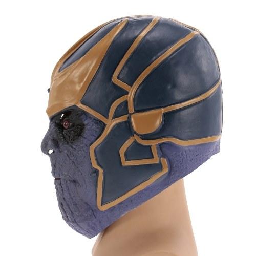Thanos Mask Movie Figure Latex Costume Mask Headgear para Halloween Cosplay Party Decoration Backroom Film Props