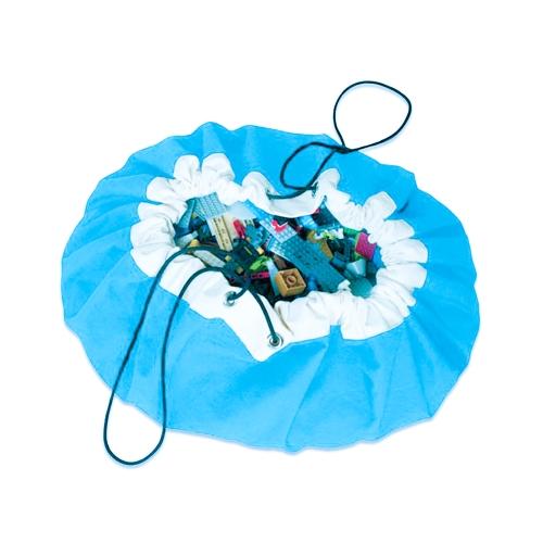 Tragbare Schnelle und Einfache kinder Spielzeug Aufbewahrungstasche Spielmatte Spielzeug Praktische Organizer Taschen Durchmesser 50 cm Rot Stil 1